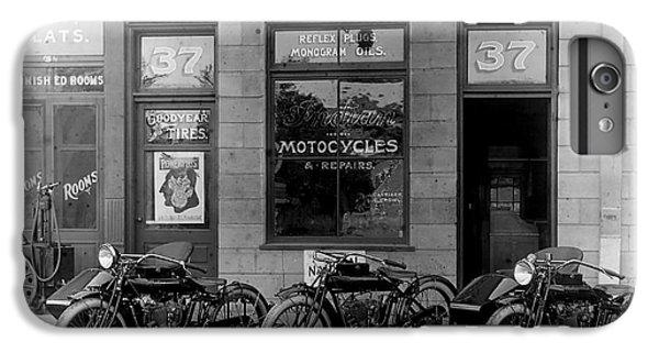 Vintage Motorcycle Dealership IPhone 7 Plus Case by Jon Neidert