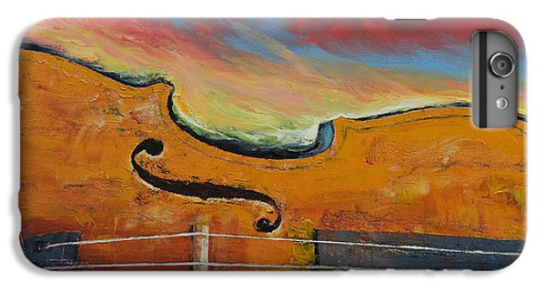 Violin IPhone 7 Plus Case by Michael Creese