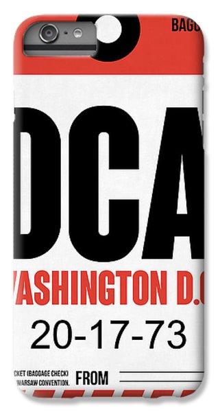 Washington D.c. Airport Poster 1 IPhone 7 Plus Case by Naxart Studio
