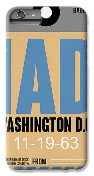 Washington D.c. Airport Poster 3 IPhone 7 Plus Case by Naxart Studio