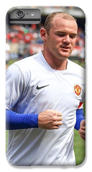 Wayne Rooney 5 IPhone 7 Plus Case by Keith R Crowley