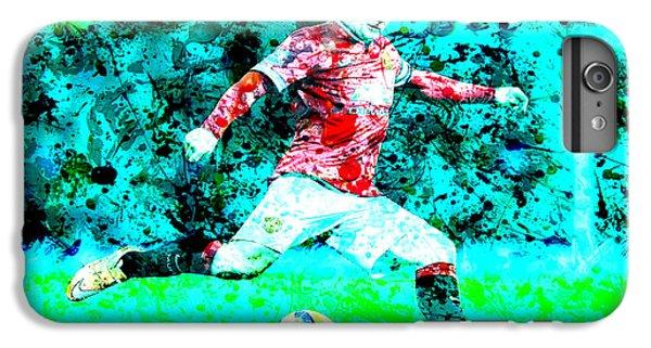 Wayne Rooney Splats IPhone 7 Plus Case by Brian Reaves