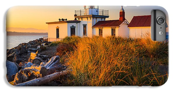 West Point Lighthouse IPhone 7 Plus Case by Inge Johnsson