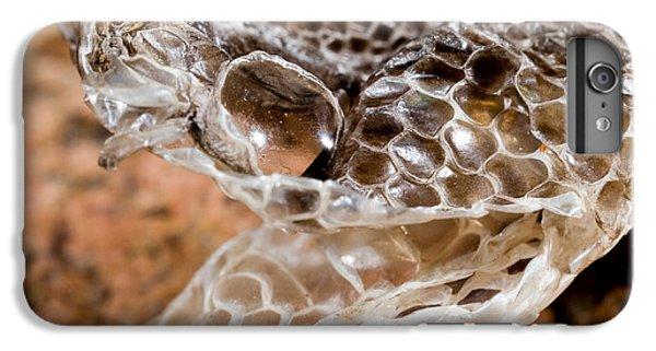 Western Diamondback Snake Skin IPhone 7 Plus Case by Gregory G. Dimijian, M.D.