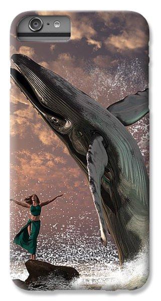 Whale Watcher IPhone 7 Plus Case by Daniel Eskridge