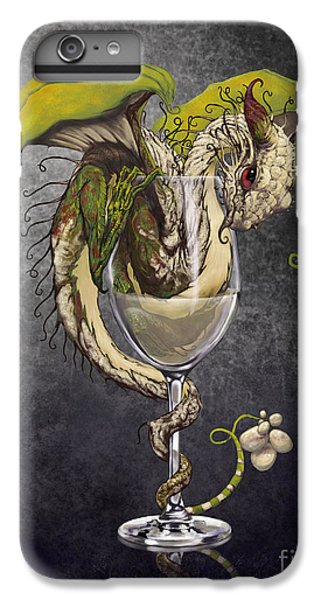White Wine Dragon IPhone 7 Plus Case by Stanley Morrison