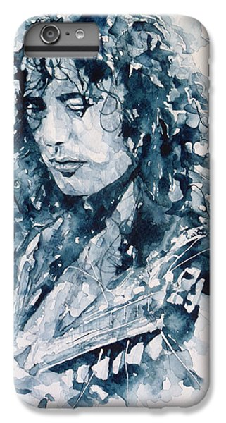 Whole Lotta Love Jimmy Page IPhone 7 Plus Case by Paul Lovering