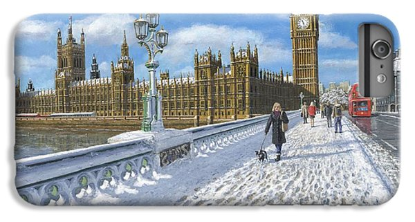 Winter Sun - Houses Of Parliament London IPhone 7 Plus Case by Richard Harpum