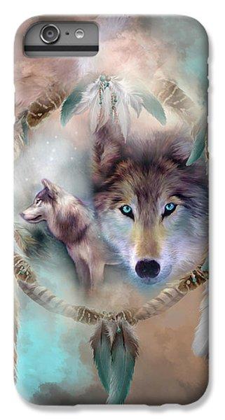 Wolf - Dreams Of Peace IPhone 7 Plus Case by Carol Cavalaris