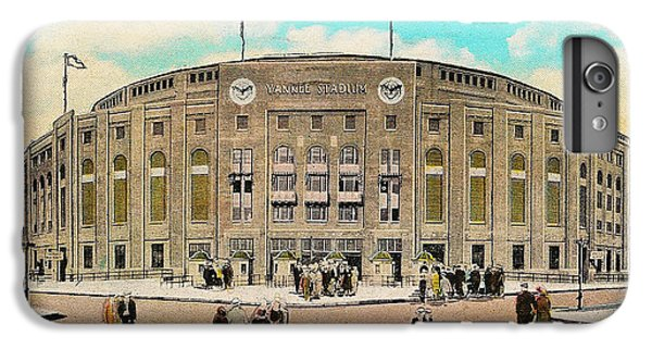 Yankee Stadium Postcard IPhone 7 Plus Case by Digital Reproductions