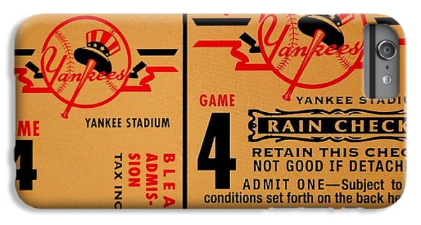 Yankees 4th Straight - Vintage IPhone 7 Plus Case by Benjamin Yeager