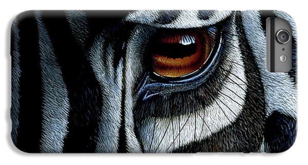 Zebra IPhone 7 Plus Case by Jurek Zamoyski