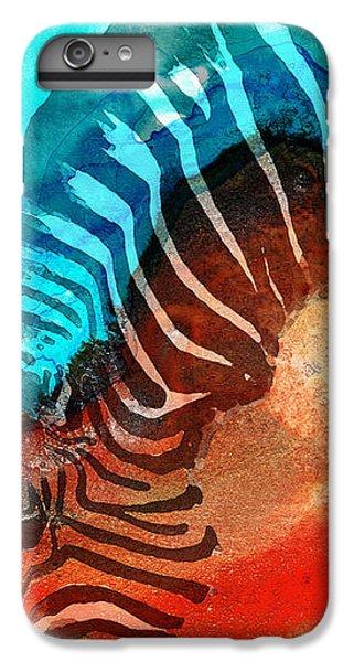 Zebra Love - Art By Sharon Cummings IPhone 7 Plus Case by Sharon Cummings