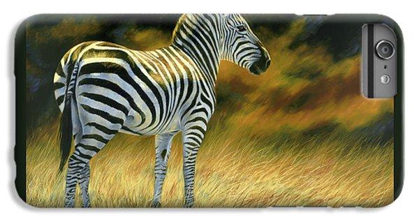 Zebra IPhone 7 Plus Case by Lucie Bilodeau
