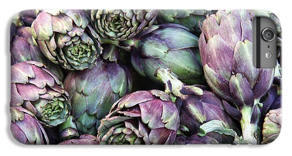 Background Of Artichokes IPhone 7 Plus Case by Jane Rix