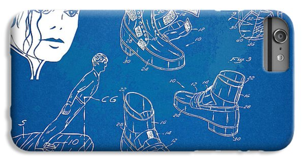 Michael Jackson Anti-gravity Shoe Patent Artwork IPhone 7 Plus Case by Nikki Marie Smith