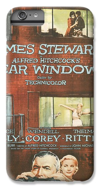 Rear Window IPhone 7 Plus Case by Georgia Fowler