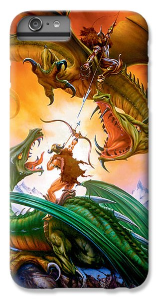 The Duel IPhone 7 Plus Case by The Dragon Chronicles