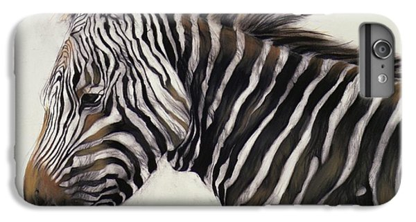 Zebra  IPhone 7 Plus Case by Odile Kidd