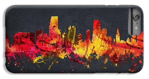 Miami Cityscape 07 IPhone 7 Plus Case by Aged Pixel