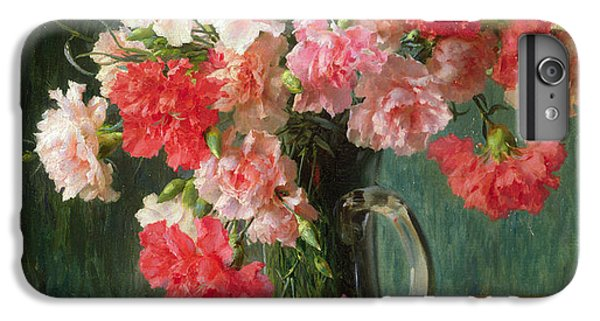 Still Life Of Carnations   IPhone 7 Plus Case by Emile Vernon