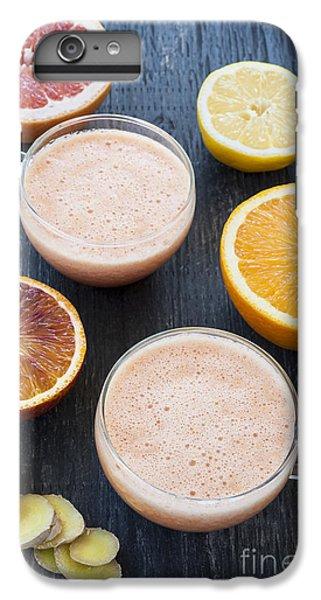 Citrus Smoothies IPhone 7 Plus Case by Elena Elisseeva
