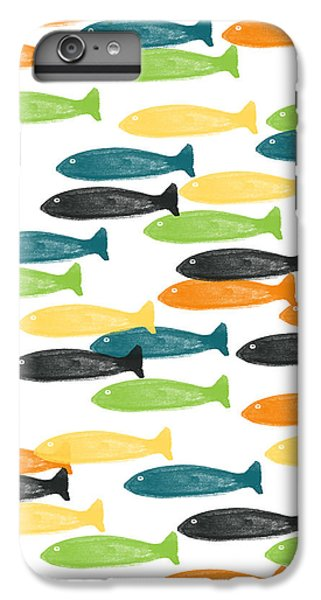 Colorful Fish  IPhone 7 Plus Case by Linda Woods