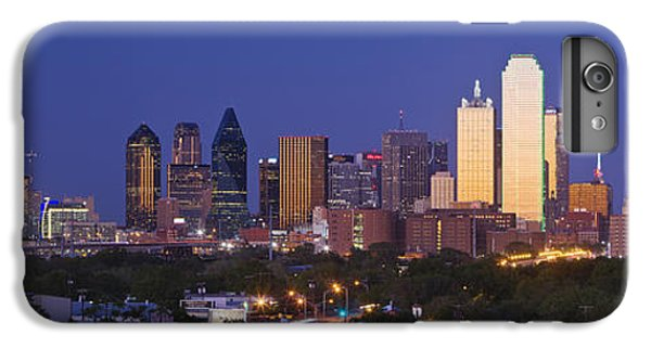 Downtown Dallas Skyline At Dusk IPhone 7 Plus Case by Jeremy Woodhouse