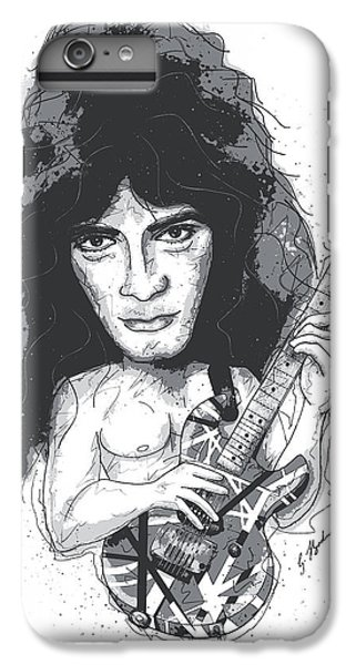 Eddie Van Halen IPhone 7 Plus Case by Gary Bodnar
