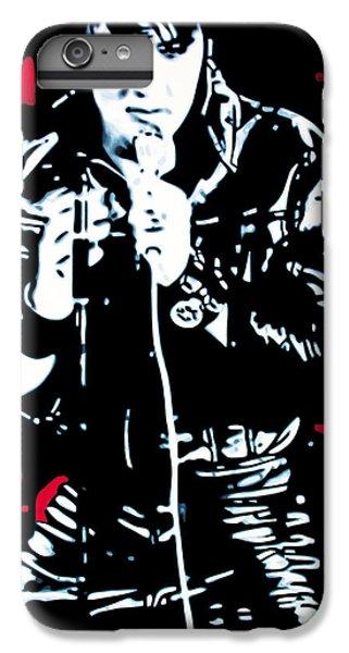 Elvis IPhone 7 Plus Case by Luis Ludzska