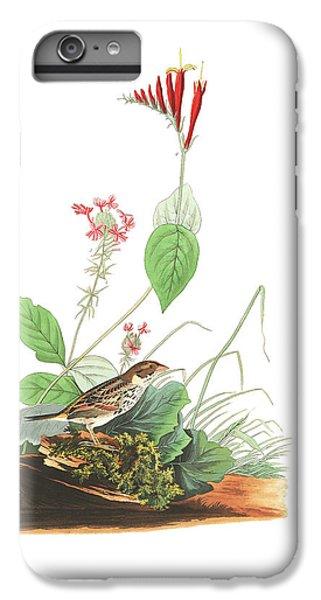 Henslow's Bunting  IPhone 7 Plus Case by John James Audubon