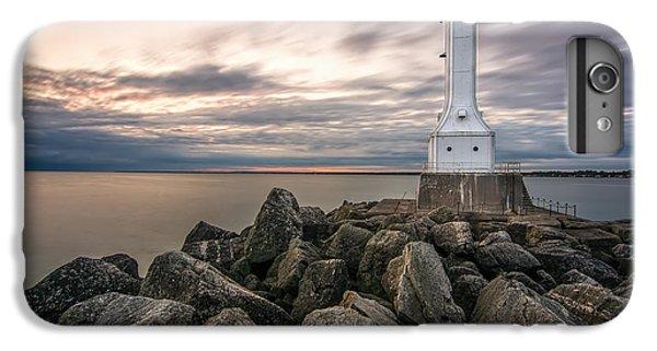 Huron Harbor Lighthouse IPhone 7 Plus Case by James Dean
