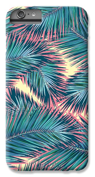 Palm Trees  IPhone 7 Plus Case by Mark Ashkenazi