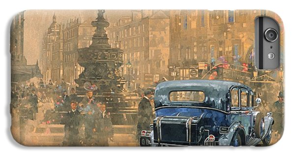 Phantom In Piccadilly  IPhone 7 Plus Case by Peter Miller