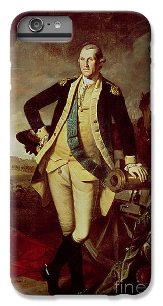 Portrait Of George Washington IPhone 7 Plus Case by Charles Willson Peale