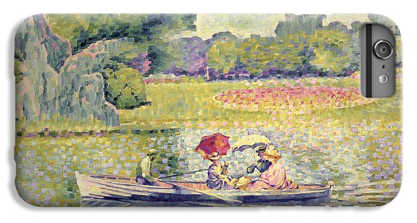 The Promenade In The Bois De Boulogne IPhone 7 Plus Case by Henri-Edmond Cross