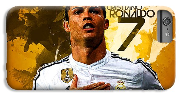 Cristiano Ronaldo IPhone 7 Plus Case by Semih Yurdabak