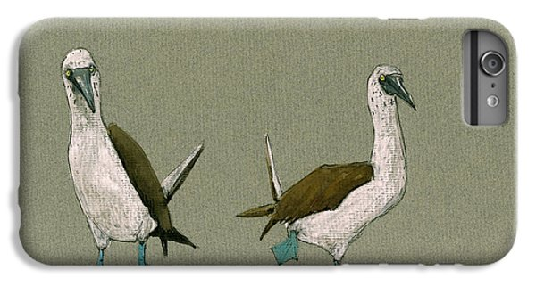 Blue Footed Boobies IPhone 7 Plus Case by Juan  Bosco