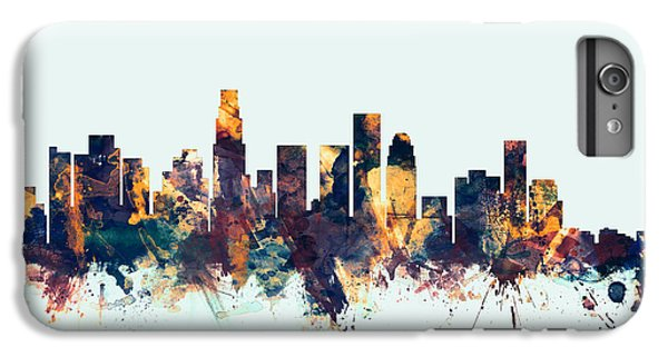 Los Angeles California Skyline IPhone 7 Plus Case by Michael Tompsett