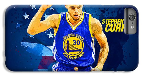 Stephen Curry IPhone 7 Plus Case by Semih Yurdabak