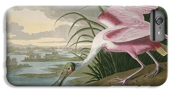 Roseate Spoonbill IPhone 7 Plus Case by John James Audubon