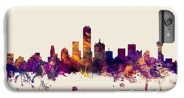 Dallas Texas Skyline IPhone 7 Plus Case by Michael Tompsett