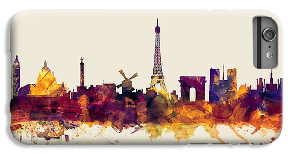Paris France Skyline IPhone 7 Plus Case by Michael Tompsett