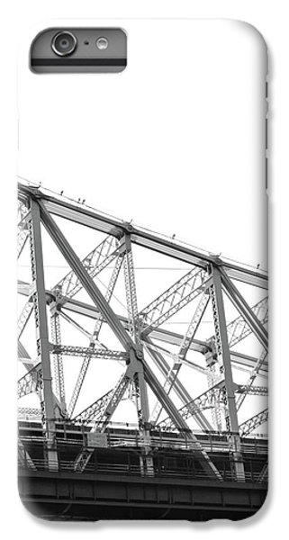 59th Street Bridge, Black And White IPhone 7 Plus Case by Sandy Taylor