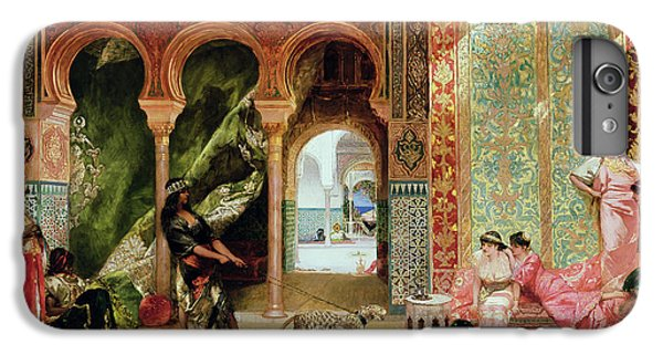 A Royal Palace In Morocco IPhone 7 Plus Case by Benjamin Jean Joseph Constant