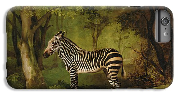 A Zebra IPhone 7 Plus Case by George Stubbs
