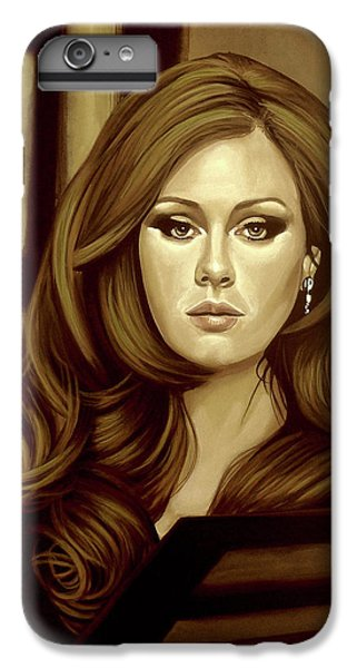 Adele Gold IPhone 7 Plus Case by Paul Meijering