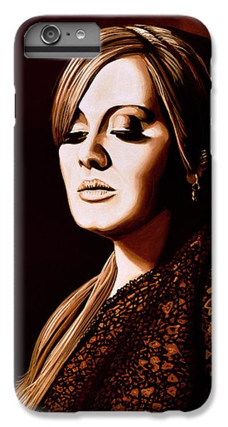 Adele Skyfall Gold IPhone 7 Plus Case by Paul Meijering