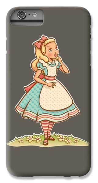 Alice IPhone 7 Plus Case by Elizabeth Taylor