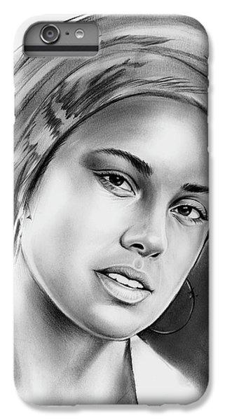 Alicia Keys 2 IPhone 7 Plus Case by Greg Joens